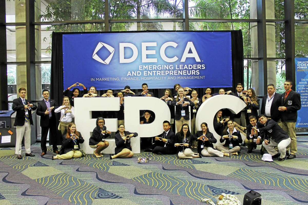 Middletown High School students competed in the International DECA convention in Orlando, Florida, where eight were international finalists.