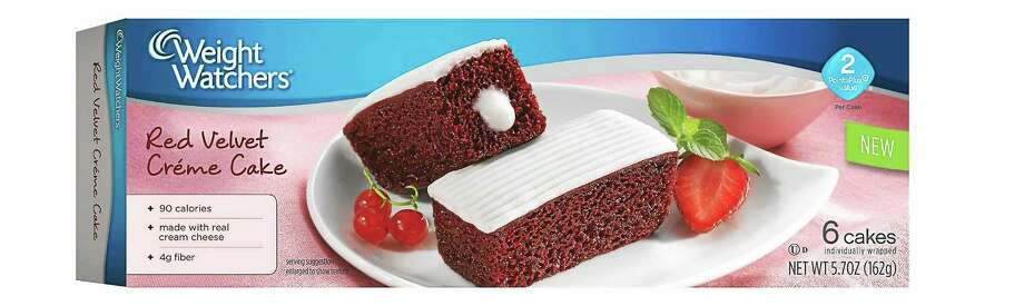 Weight Watchers Red Velvet Creme Cakes. (PRNewsFoto/Weight Watchers Sweet Baked Goods) Photo: PR NEWSWIRE / WEIGHT WATCHERS SWEET BAKED GOOD