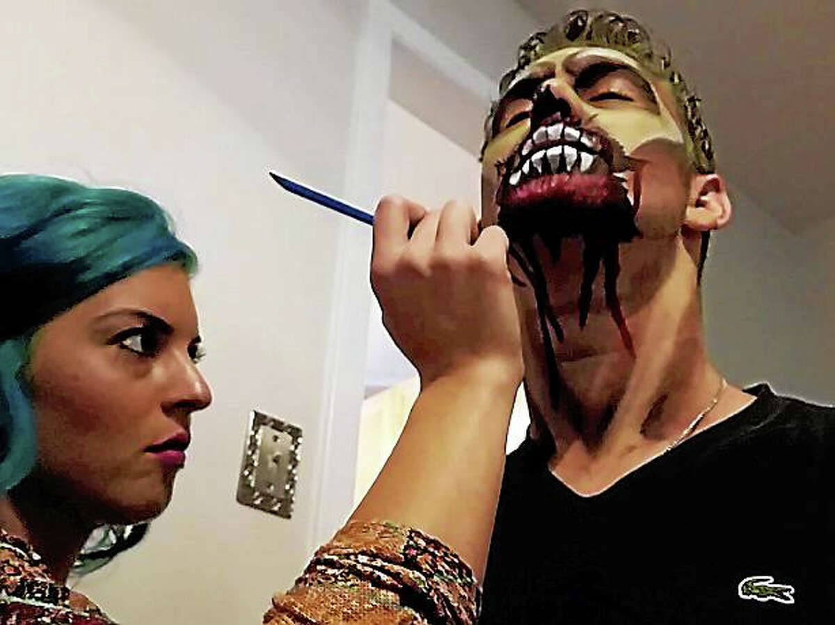 Cromwell makeup artist Kaylee Doll's Halloween gig is one she enjoys the most — transforming actors into ghastly creatures of the undead at the Haunted Graveyard at Lake Compounce in Bristol.