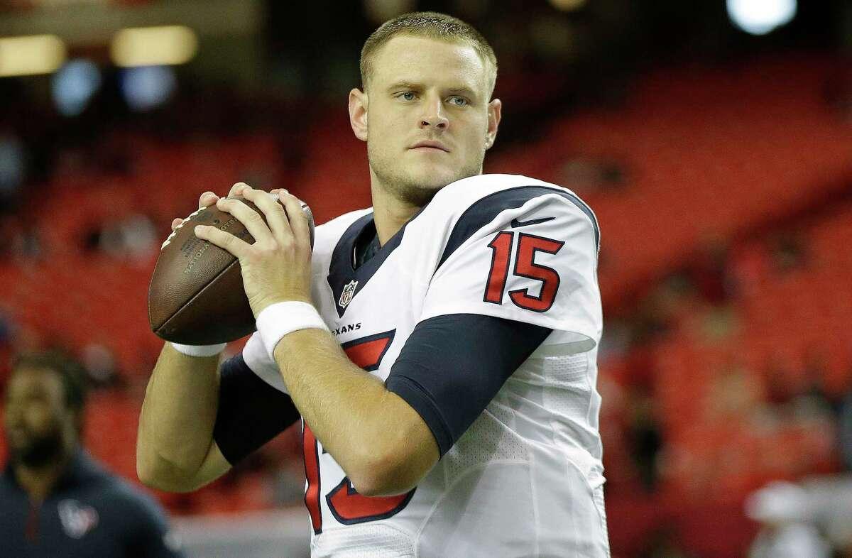 The Houston Texans have released quarterback Ryan Mallett.