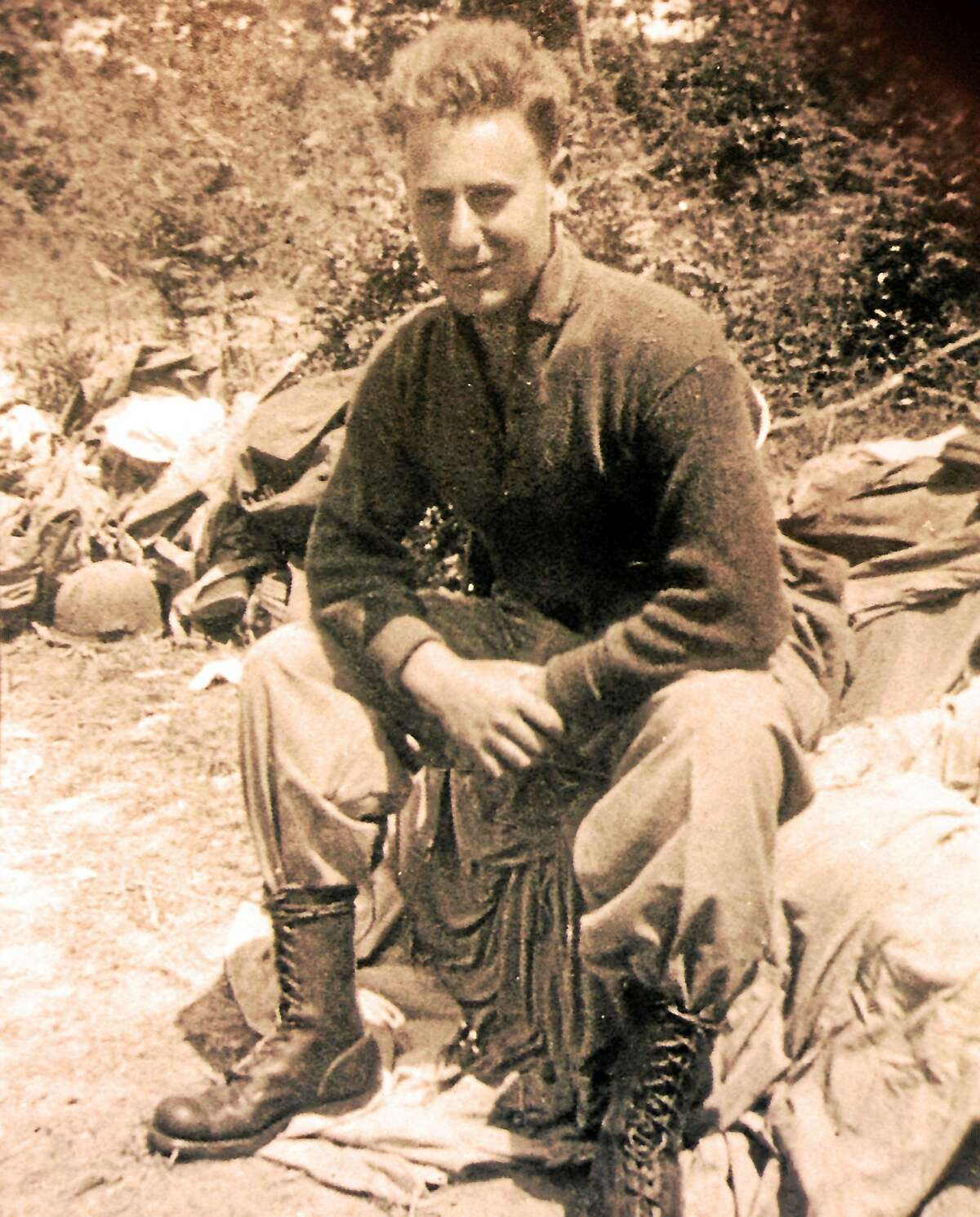 Historian Phil Devlin will offer a digital presentation about the short life of the young Connecticut WWII veteran Melvin Baron, shown here, at the Hadlyme Congregational Church on Nov. 8.