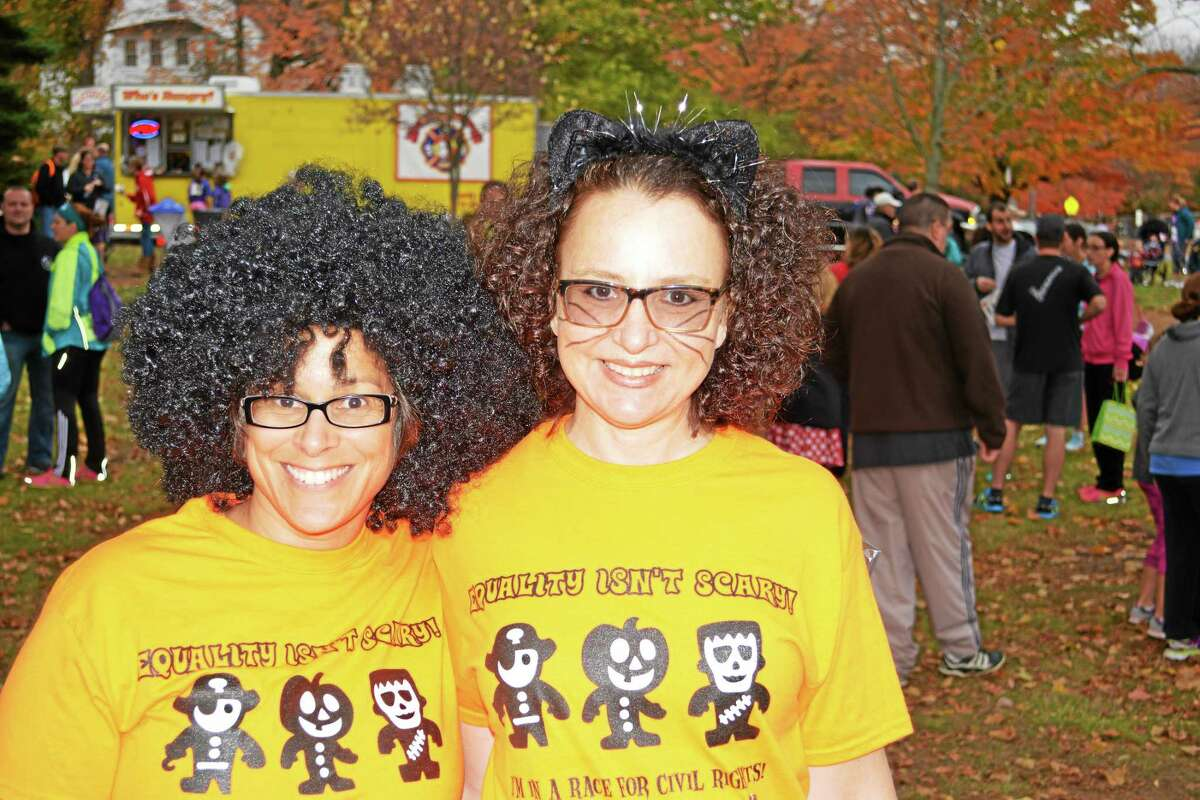 More than 400 runners competed in the Pumpkin Run & Hartford Marathon Foundation FitKids races in Higganum this past weekend.
