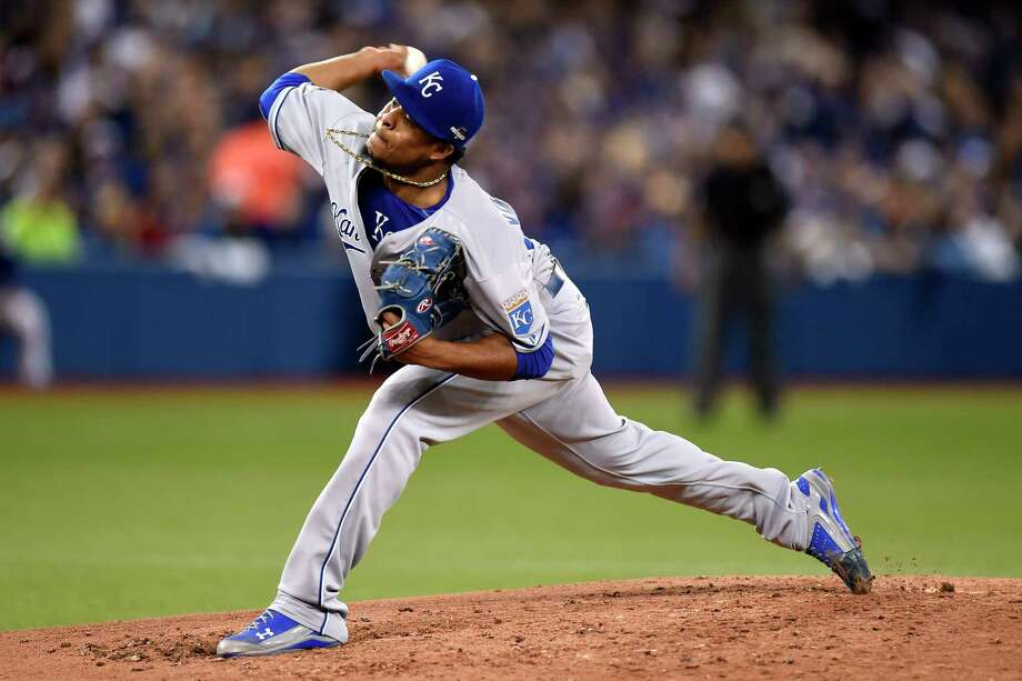 Kansas City Royals starting pitcher Edinson Volquez will start Game 1 of the World Series. Photo: Frank Gunn — The Canadian Press  / CP