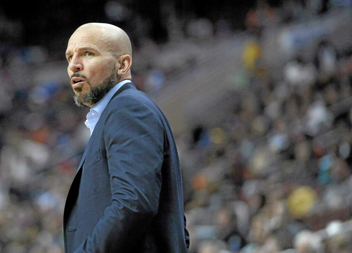 The Brooklyn Nets have traded coach Jason Kidd to the Milwaukee Bucks for two second-round picks.