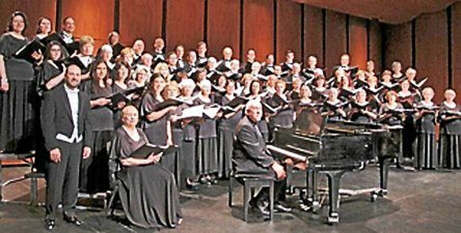 Submitted photo - GMChorale The GMChorale Chamber Singers are performing several concerts in November and December. Photo: Journal Register Co.