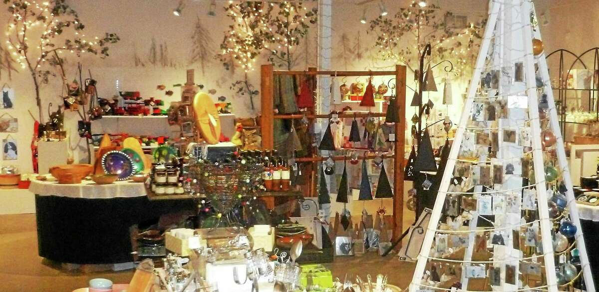 """Submitted photo - Guilford Arts Center """"Artistry"""" at the Guilford Arts Center offers a choice for holiday shopping."""