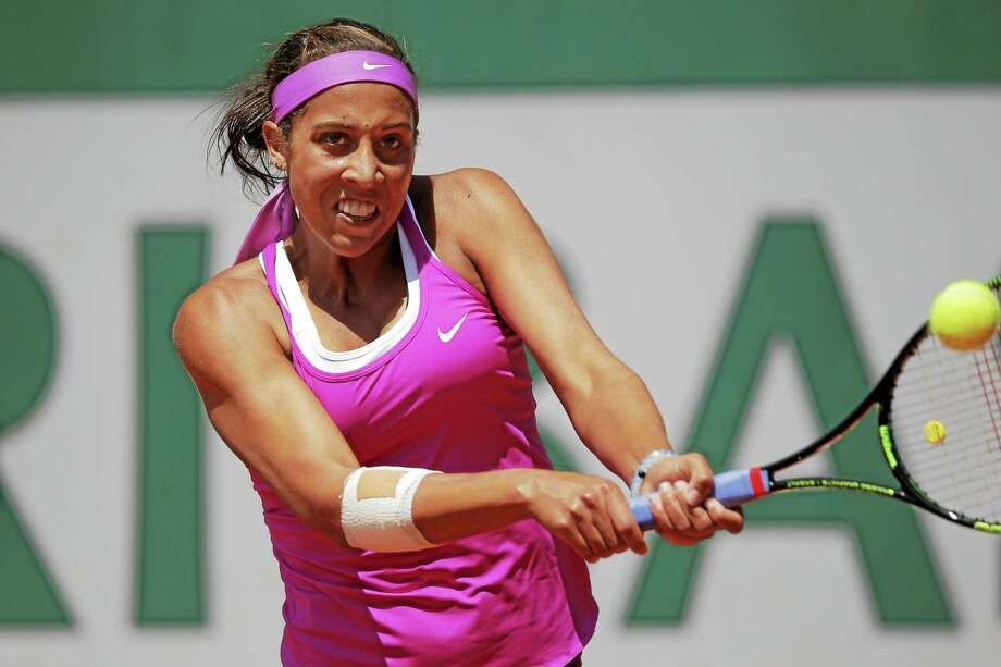 Madison Keys, who reached the semifinals of the Australian Open earlier this year, will be in New Haven this August to play in the Connecticut Open. Photo: The Associated Press File Photo  / AP