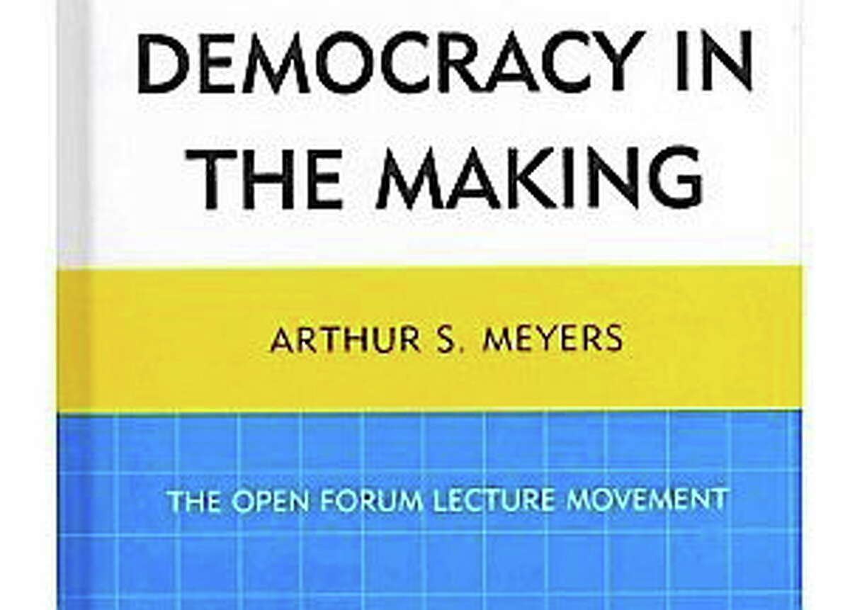 """Courtesy photo Director of the Russell Library in Middletown Arthur Meyers has written """"Democracy in the Making."""""""