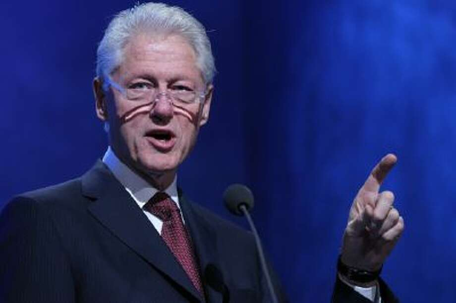 Former U.S. President Bill Clinton speaks during the annual meeting of the Clinton Global Initiative (CGI) in New York, U.S., on Tuesday, Sept. 24, 2013.