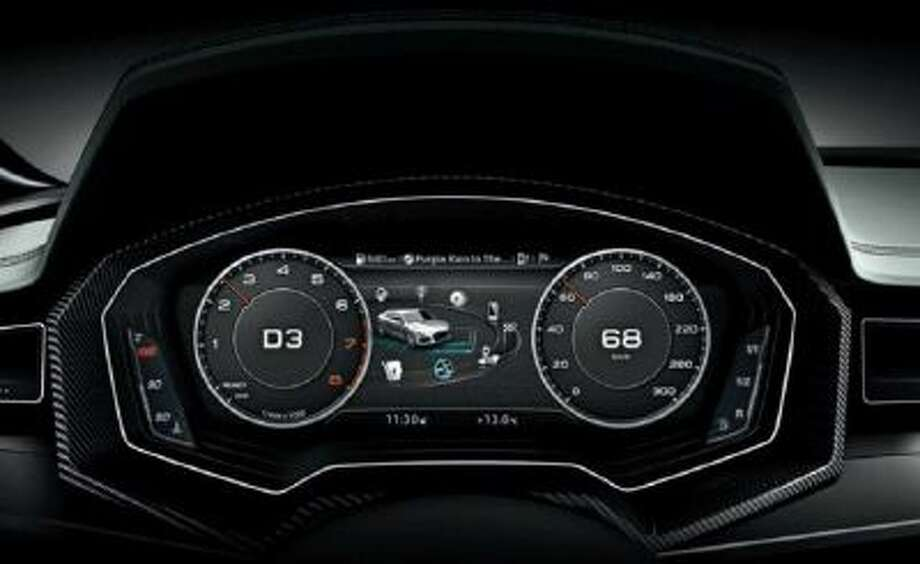 Audi's virtual cockpit, powered by NVIDIA Tegra 3, will begin appearing in the Audi TT later this year. The driver can customize the display and the information shown via buttons or voice commands.