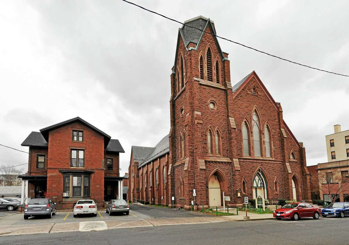 First Church Congregational on Court Street in Middletown
