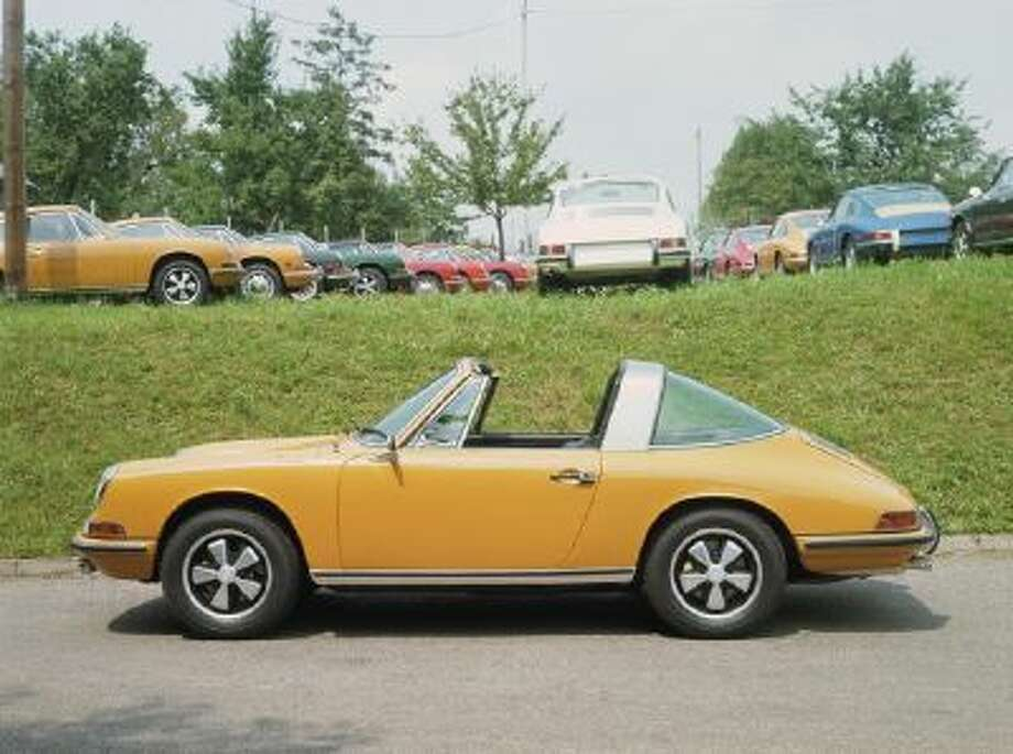The original 1965 Porsche 911 Targa.