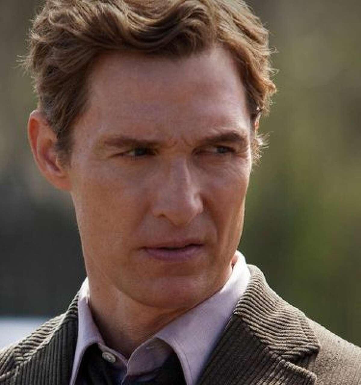 Matthew McConaughey plays former Louisiana detective Rust Cohle.