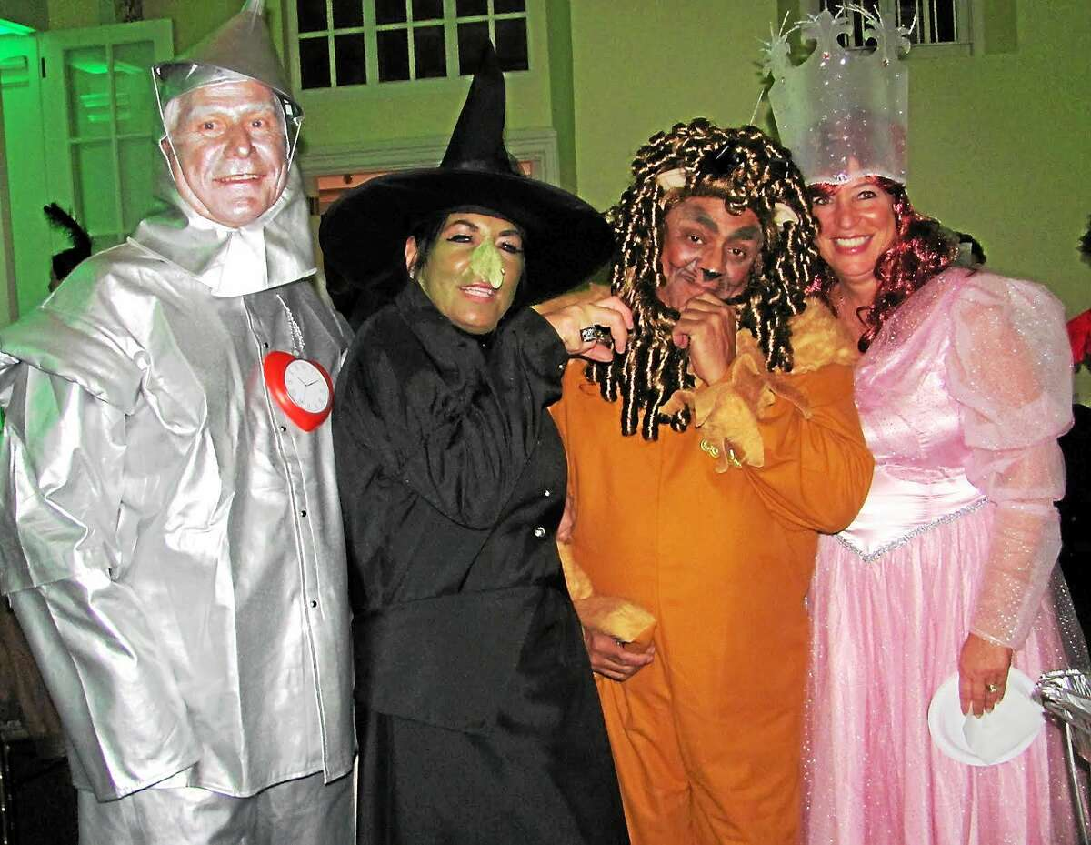 """The Wadsworth Mansion's fifth annual Halloween party in Middletown promises a ghoulishly good time for Halloween evening. Festivities include a """"Thriller"""" flash mob that attendees can practice for ahead of time. Costumed guests enjoy the event in this file photo."""