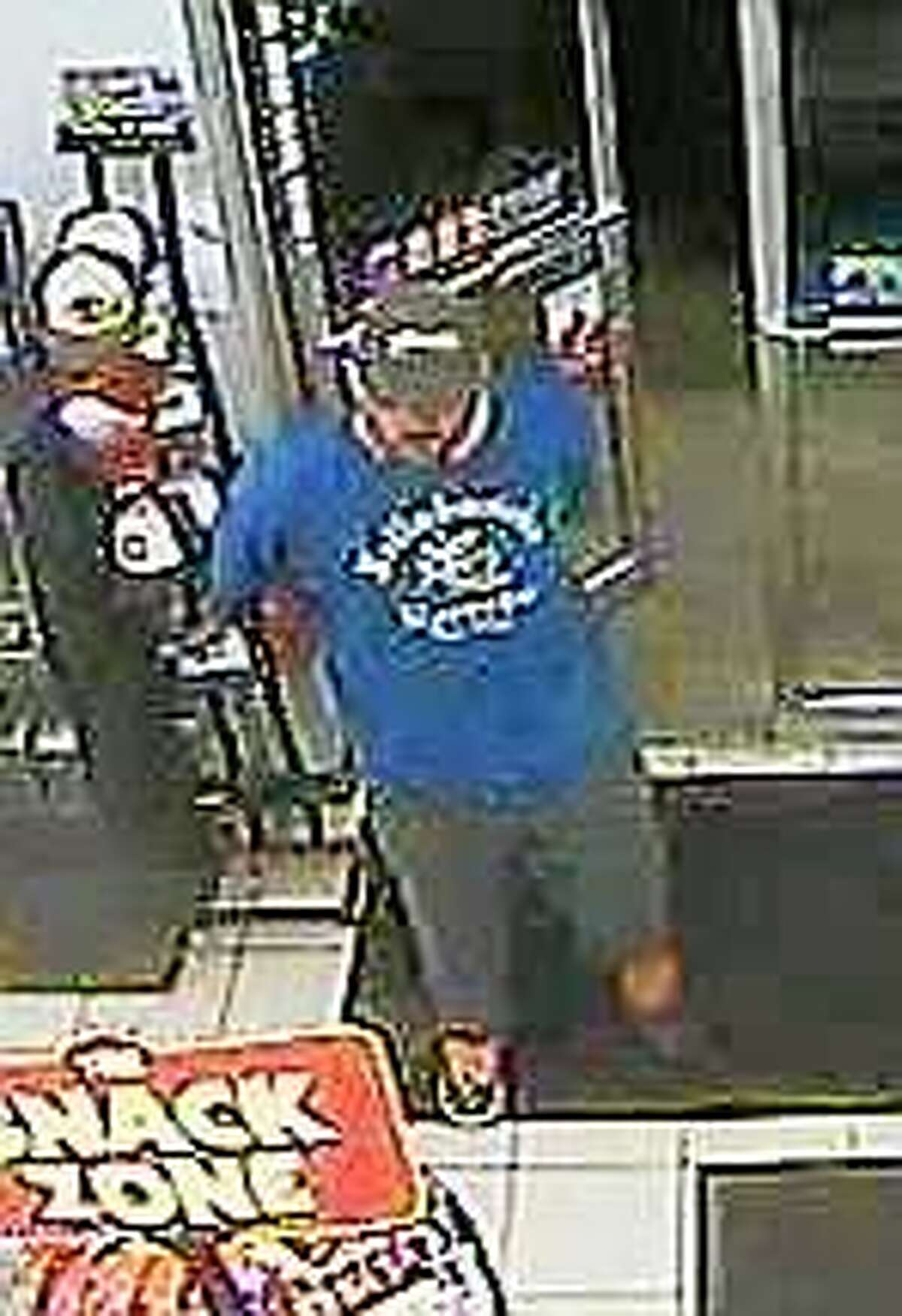 Connecticut State Police major crimes unit troopers are searching for the man they say robbed the Valero on Main Street in Durham Monday.
