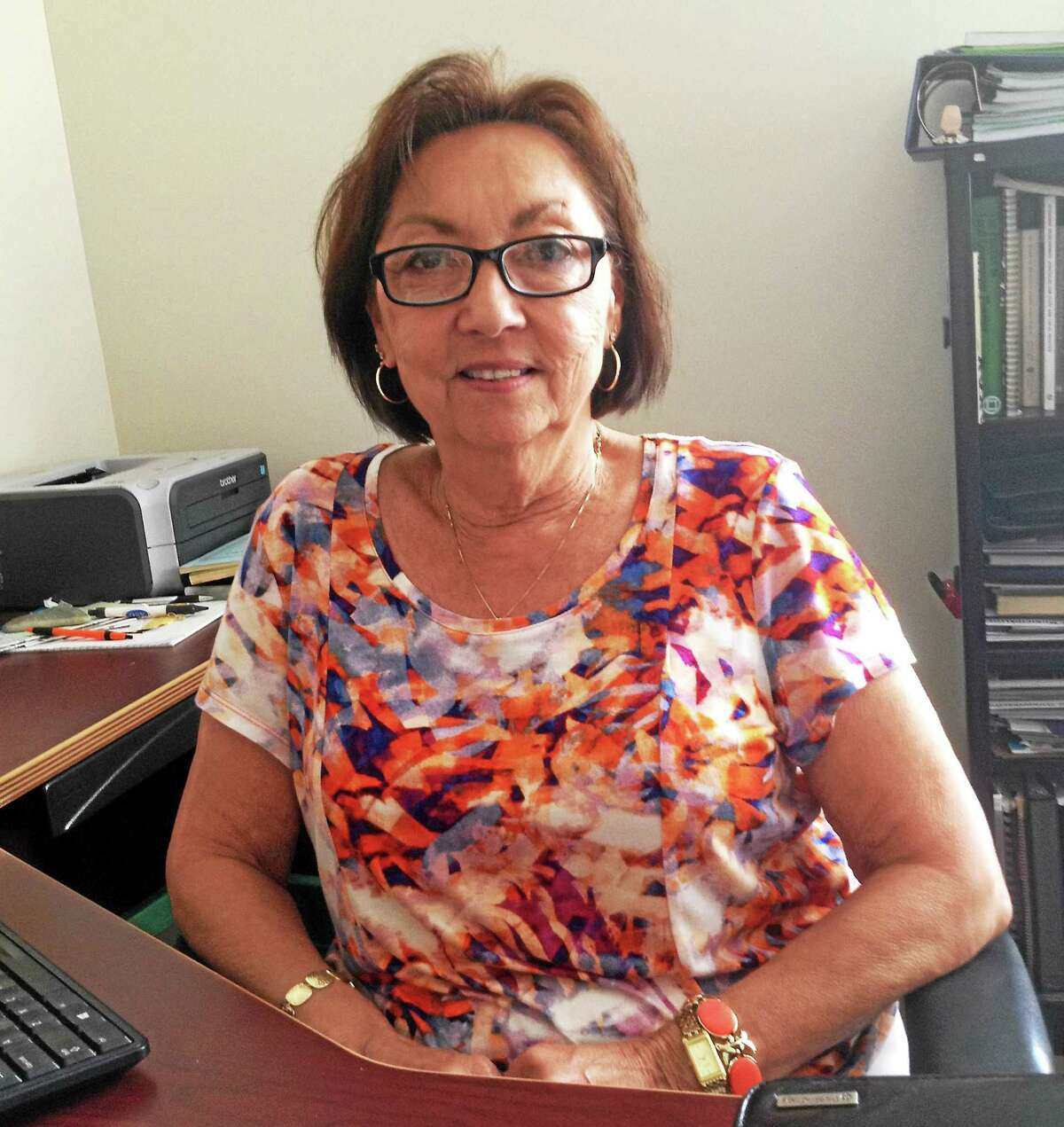 Shirley Jasion, administrative secretary to the Cromwell building and health departments, is leaving her job to spend time with her retired husband and continue their efforts to rescue stray animals.