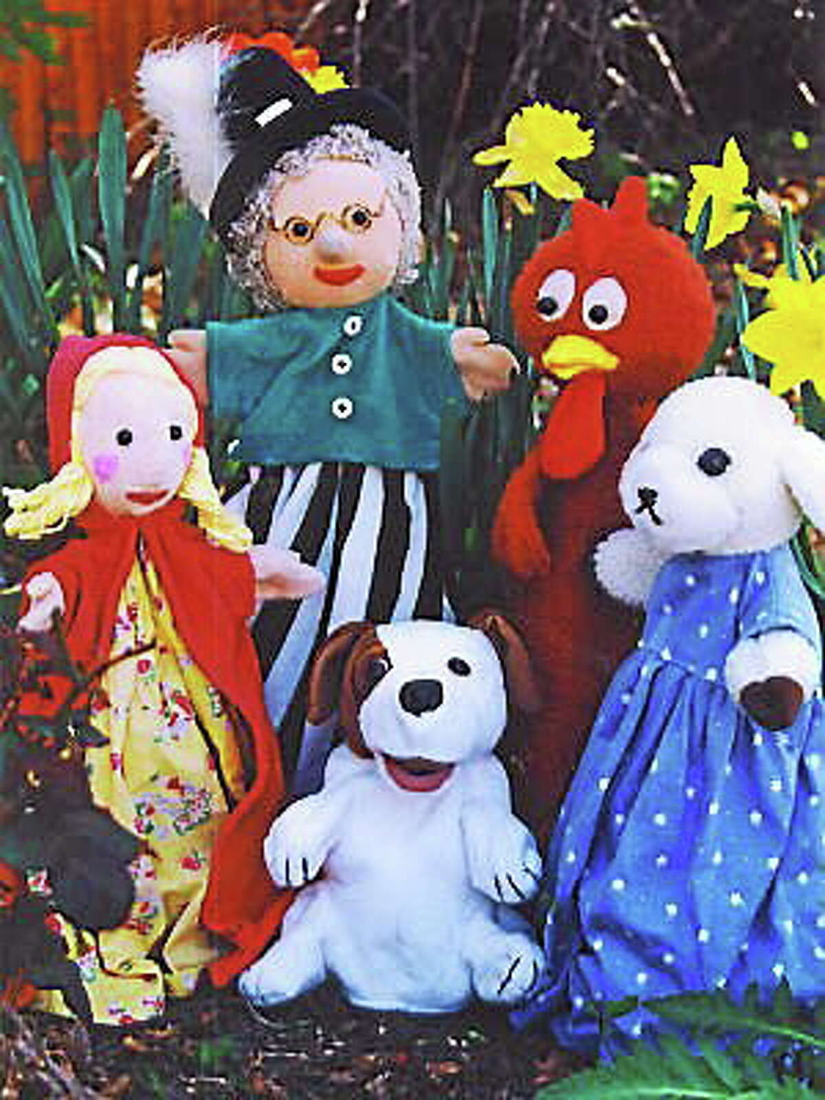 Courtesy photo Sparky's Puppets is coming to the Cromwell Library.