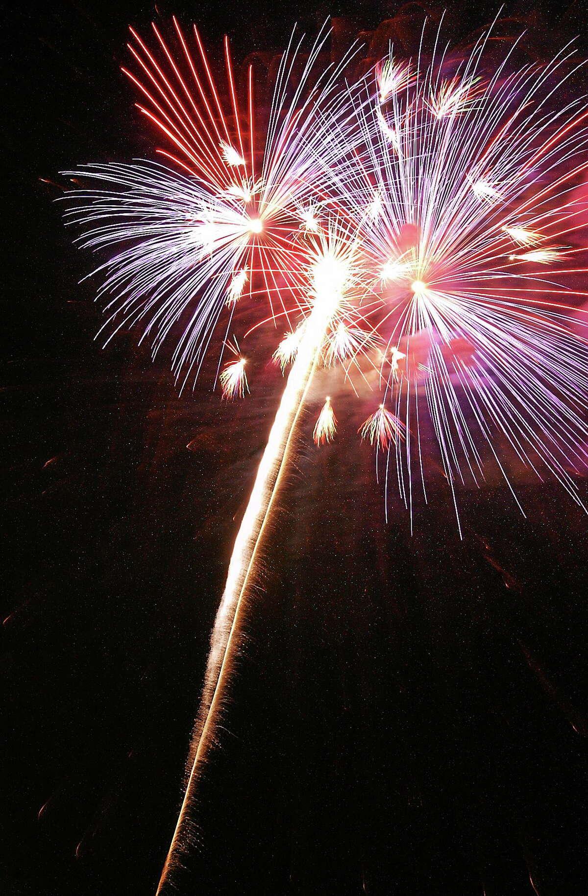 Middletown Press file photo. ¬ Fireworks