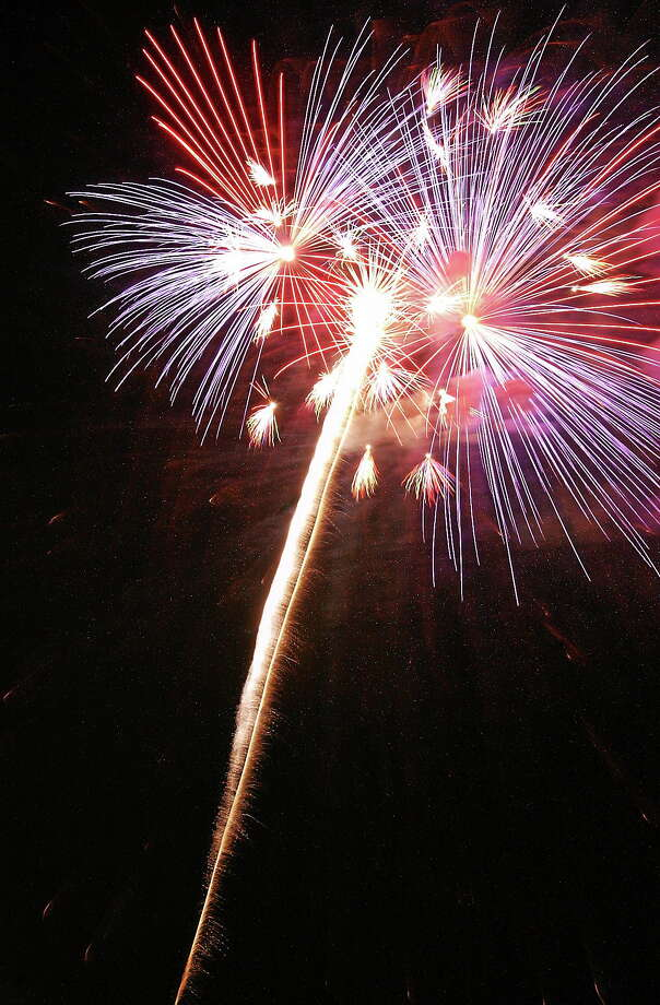 Middletown Press file photo. ¬ Fireworks Photo: Journal Register Co.