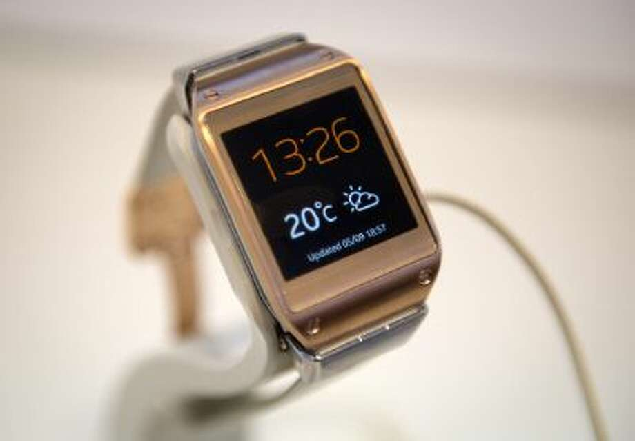 The Samsung Galaxy smartwatch will be getting an upgrade. Photo: AFP/Getty Images / 2013 AFP