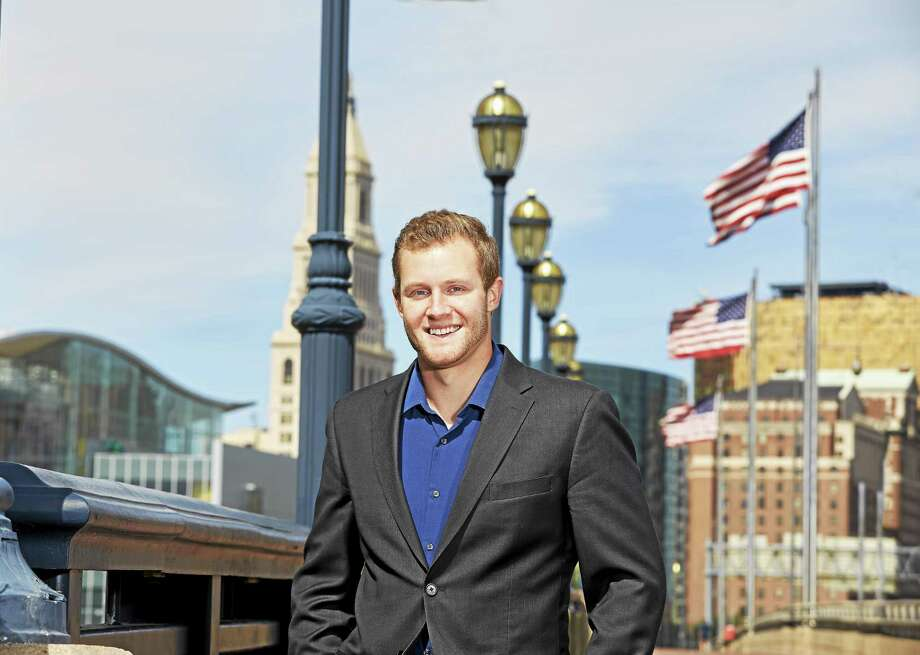St. Anselm College senior and Cromwell native Kenneth Mackiewicz will intern at the Federal Norris Cotton Building in Manchester, New Hampshire, upon graduation. He's also a 2011 graduate of Xavier High School in Middletown. Photo: Lanny Nagler Photography