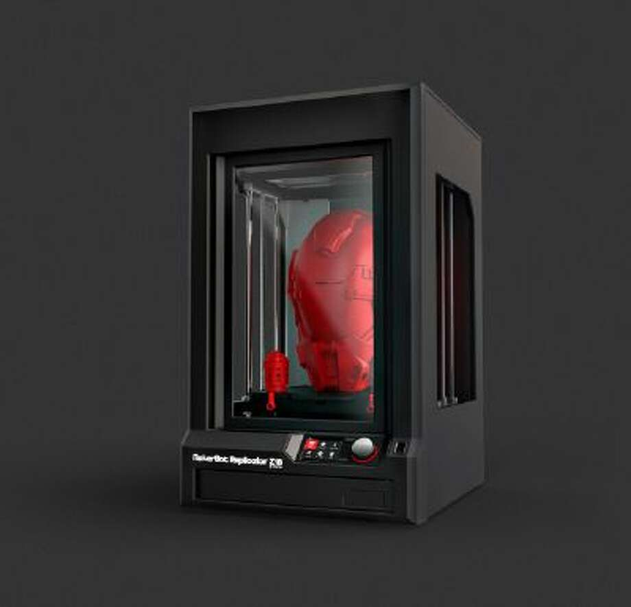 The MakerBot Z18 3D printer produces objects six times larger than MakerBot's standard Replicator.