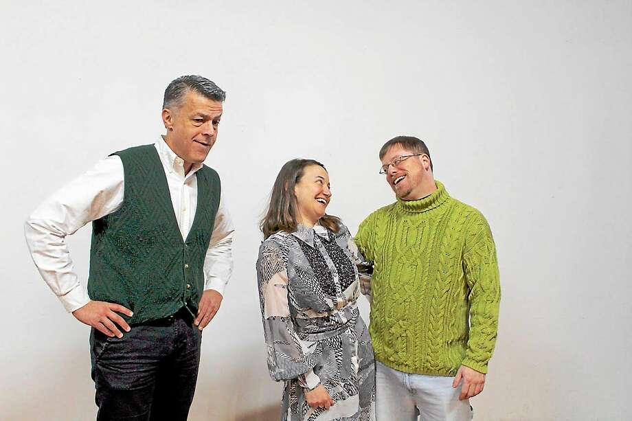 "Contrbuted photos  The cast for the Farmington Valley Stage Company's production of Ira Levin's ""Critic's Choice"" comes to the Canton Town Hall theater in Collinsville March 6-21 with plenty of local theater experience. Photo: Journal Register Co. / R. Scalzo, R. Scalzo, R. Scalzo"