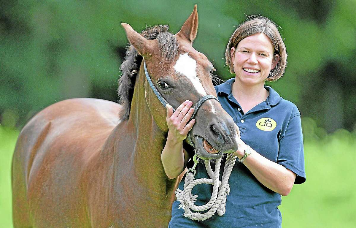 Amanda Thomson, an animal science teacher at Middletown High School, is a teacher in the Middletown Agriculture Science and Technology program for adults, where classes are offered for free this spring.