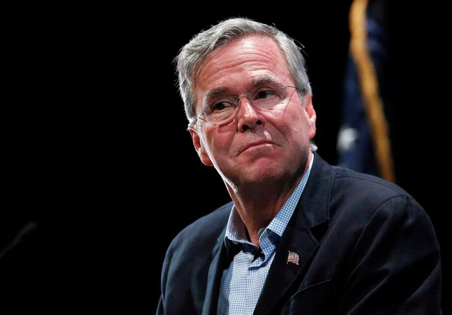 Republican presidential candidate Jeb Bush speaks during the LIBRE Initiative's policy forum series at the College of Southern Nevada in North Las Vegas, Nev., Wednesday, Oct. 21, 2015. Photo: Steve Marcus/Las Vegas Sun Via AP   / Las Vegas Sun