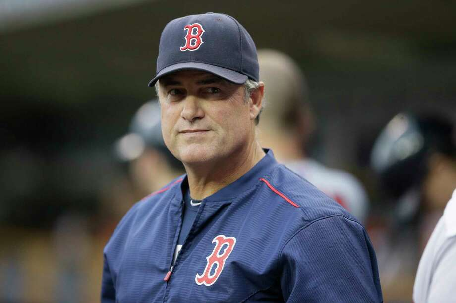 The Red Sox say manager John Farrell's cancer is in remission. Photo: Carlos Osorio — The Associated Press File Photo  / AP