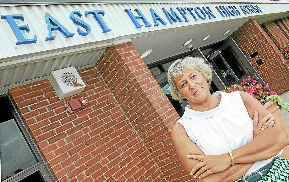 Diane Dugas, superintendent of East Hampton schools Photo: File Photo  / TheMiddletownPress