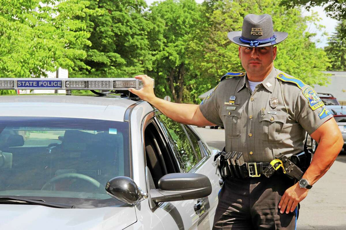 Trooper First Class Larry Morello is the new resident state trooper in Durham.