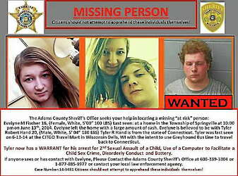 Missing Wisconsin teen found safe in Connecticut, but not returned