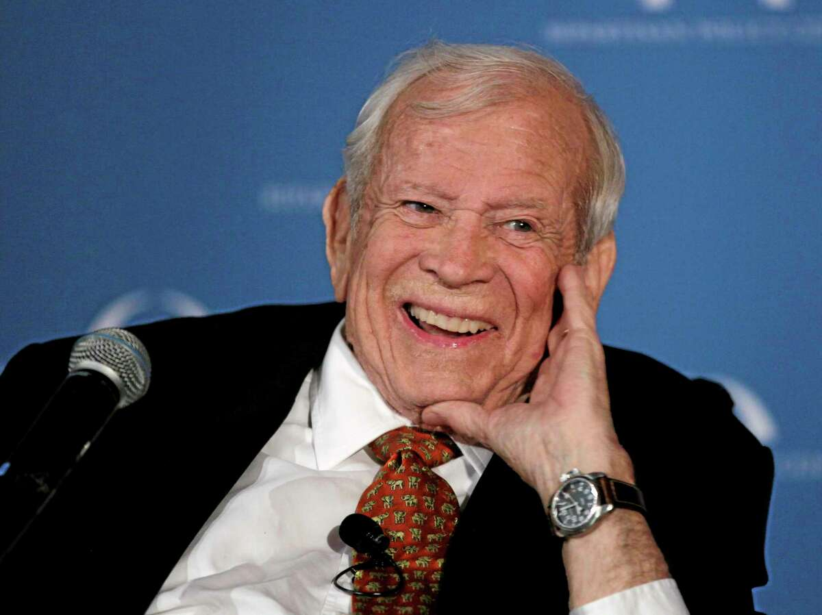 AP File Photo/Carolyn Kaster This March 21, 2012, file photo shows former Senate Majority Leader Howard Baker in Washington, who has died.