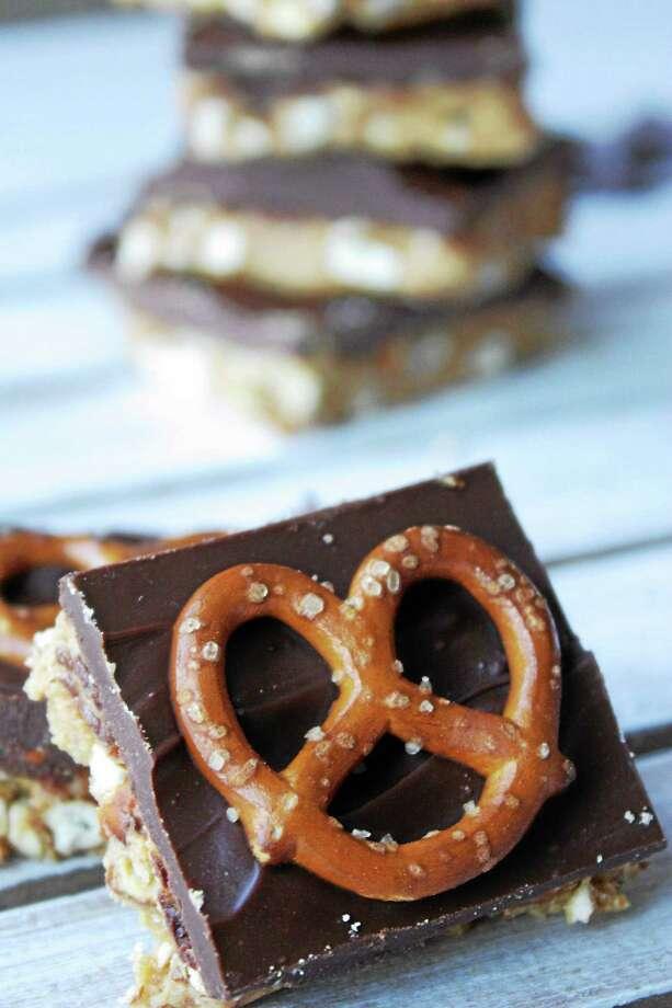 Peanut Butter Pretzel Bars Photo: Courtesy I.O.N. Restaurant