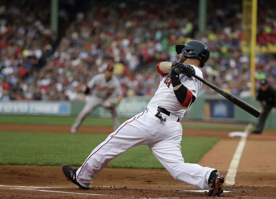 Boston Red Sox second baseman Dustin Pedroia has been placed on the DL. Photo: Steven Senne — The Associated Press  / AP