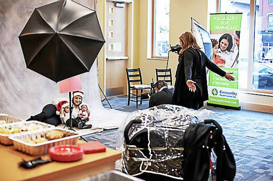 The Community Health Center is taking part this year in the Help-Portrait project to offer free sittings and photos to families in need. Photo: Courtesy Photo