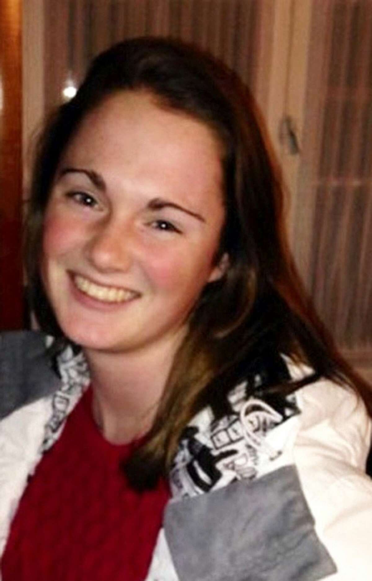 Missing University of Virginia student Hannah Elizabeth Graham is seen in an undated photo provided by the Charlottesville, Va., Police Department. Searchers found human remains on Saturday, Oct. 18, 2014, that could be those of the University of Virginia sophomore who has been missing since Sept. 13, police said. Further forensic tests are needed to confirm whether the remains are those of Graham, Charlottesville Police Chief Tim Longo told a news conference.
