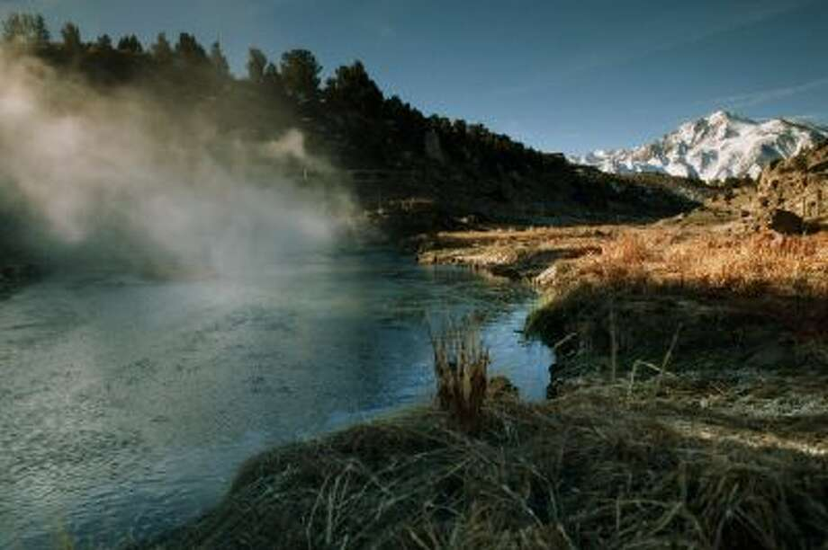 You'll find an abundance of wild hot springs is the Californian sierras, and many of them are easy to reach from nearby towns. Photo: Getty Images/National Geographic / National Geographic RF