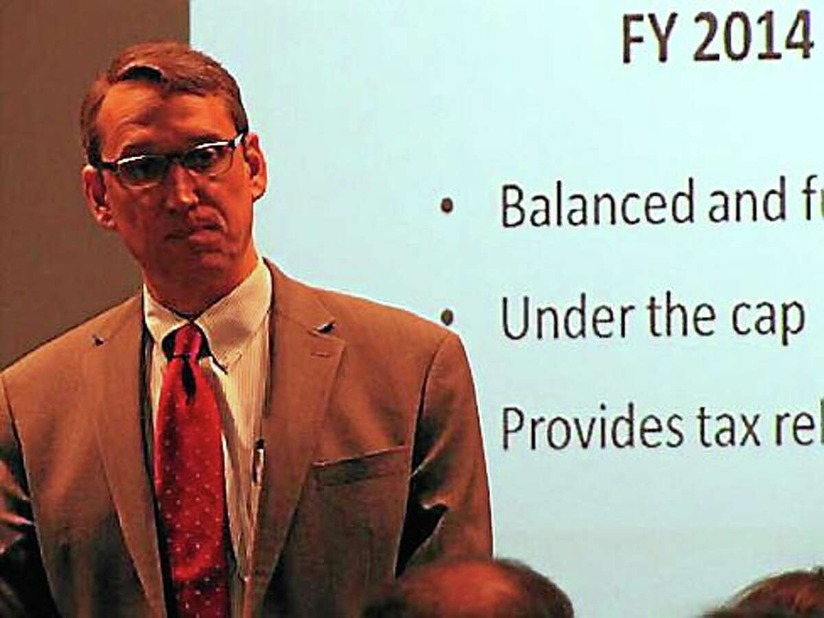 Connecticut Budget Director Ben Barnes