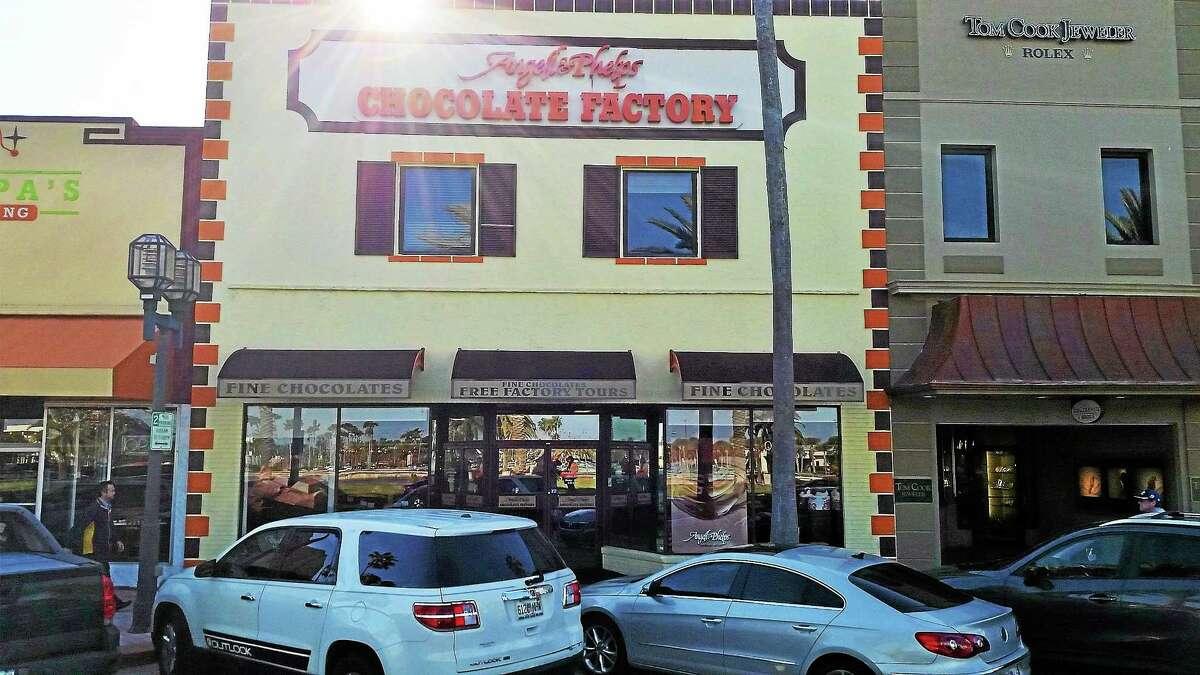 The Angell and Phelps Chocolate Factory in Daytona Beach, Florida.