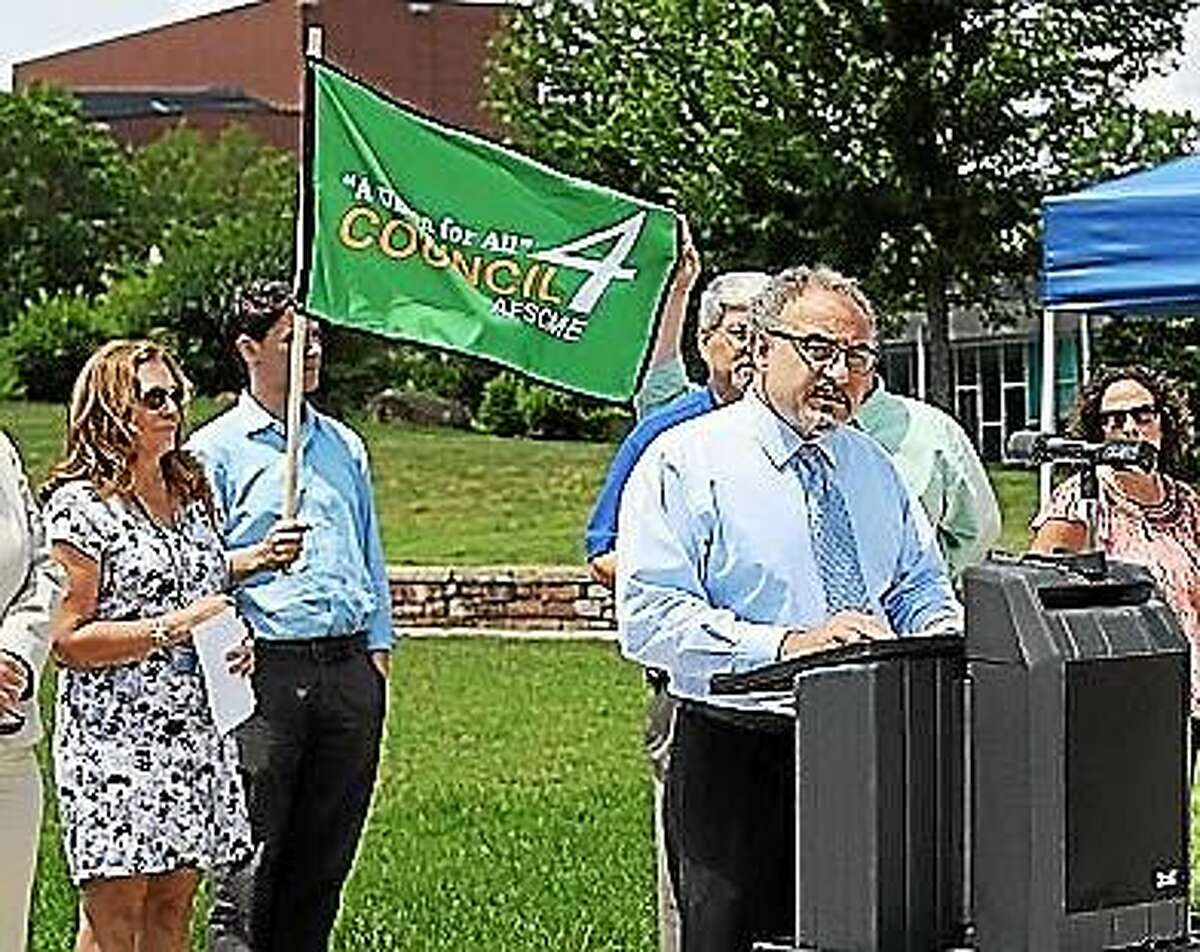 Sal Luciano, Executive Director of Council 4 AFSCME