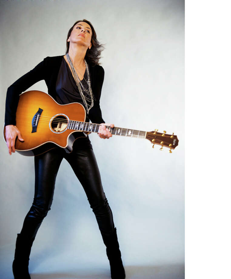 Contributed photo  The musician Katrin is performing at the Buttonwood Tree Oct. 24. Photo: Journal Register Co.