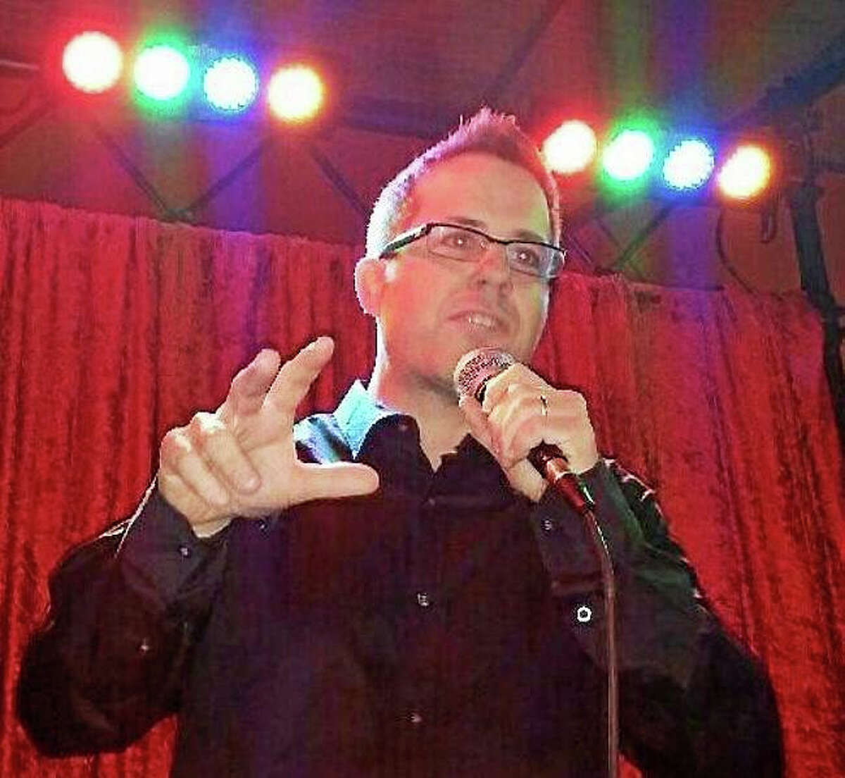 Contributed photoComedian Darren Sechrist leads a comedy show at the Buttonwood Tree Oct. 30.