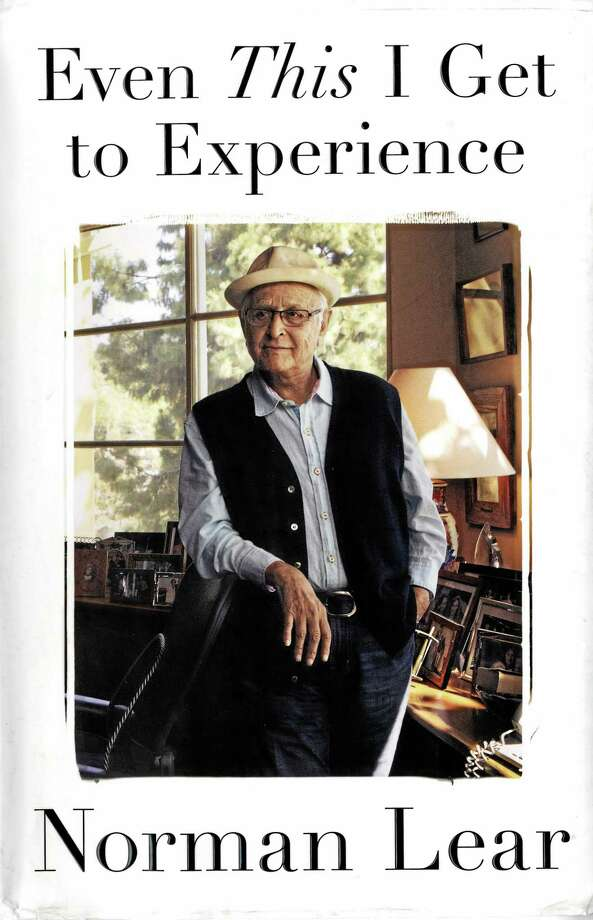 "Norman Lear's newly-published memoir, ""Even This I Get to Experience."" Photo: Journal Register Co."