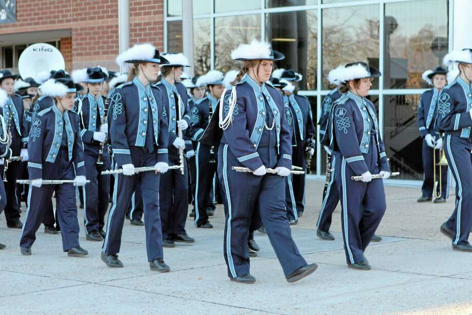 he Middletown High School band in Washington, D.C. Photo: Submitted Photo