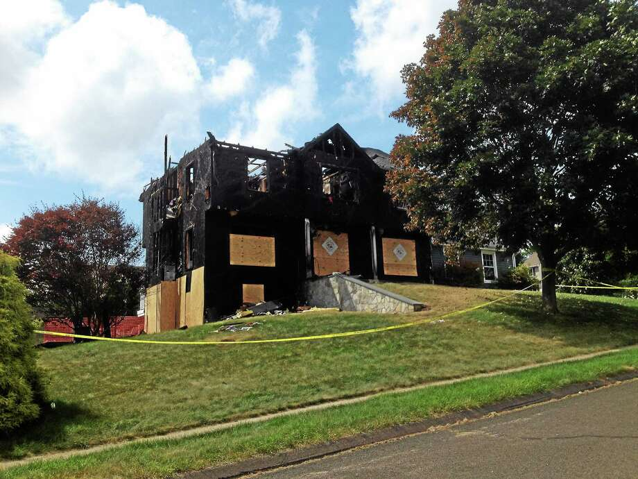 Jeff Mill - The Middletown Press The cause of a raging fire that destroyed a two-story house at Belle Vista Heights in Portland last week could not be determined. Photo: Journal Register Co.