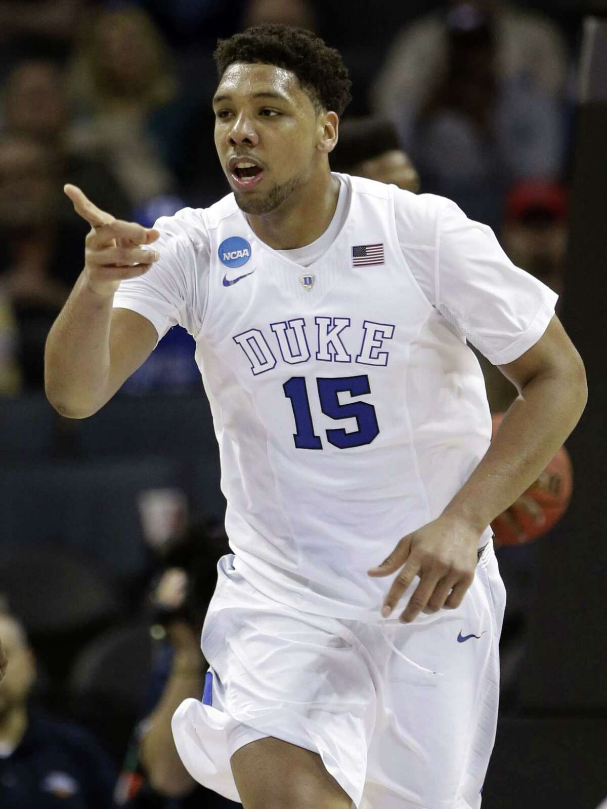 Jahlil Okafor is a top prospect in the NBA Draft.