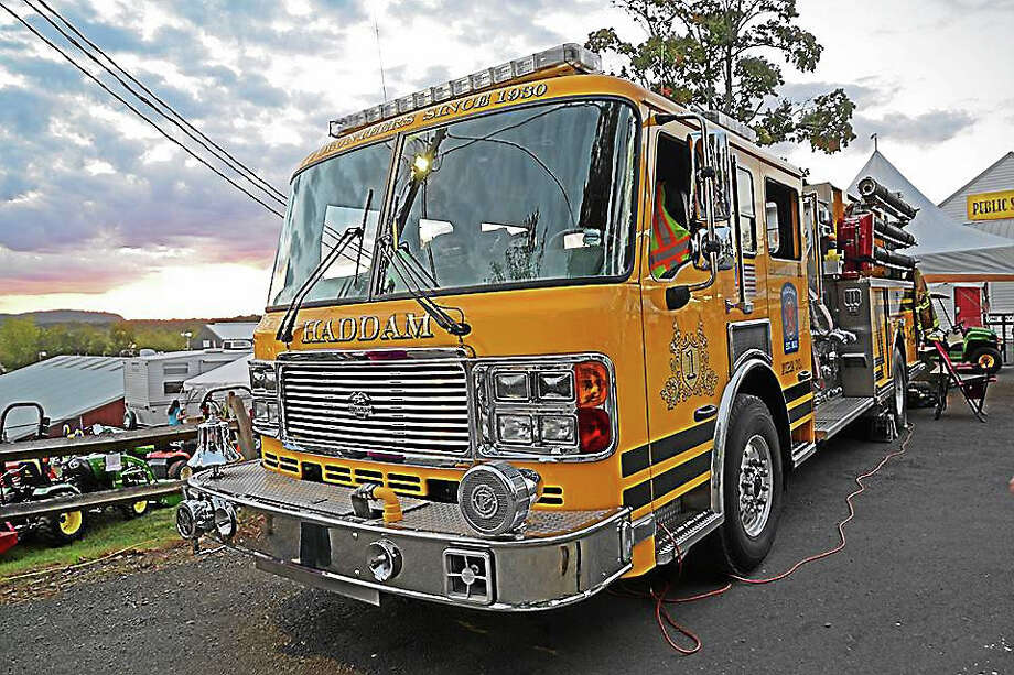 Courtesy photo Haddam Volunteer Fire Company Photo: Journal Register Co.