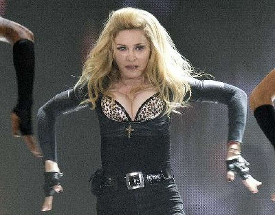 Madonna performs in Cologne, Germany, Tuesday, July 10, 2012.